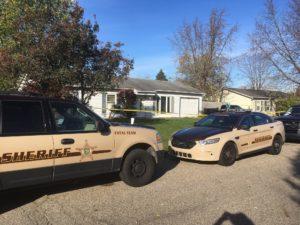 Crime scene from the Sue St. home Adalin Stamper's body was located. (Photo supplied/Kosciusko County Sheriff's Department)